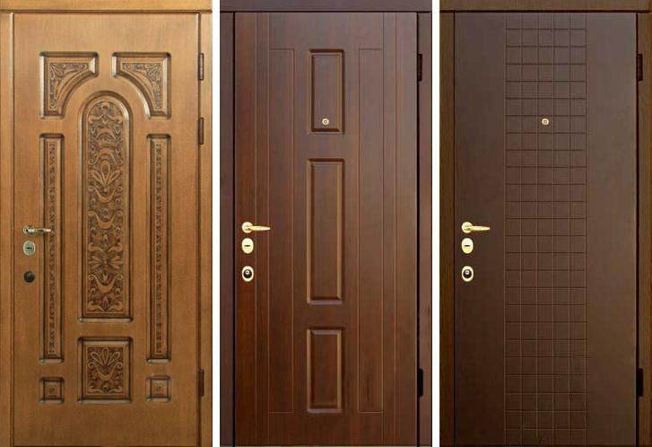 недорогие металлические двери с